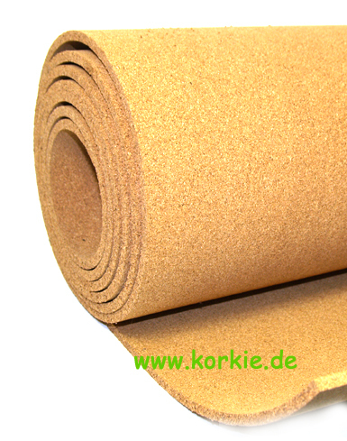 Rolled Cork, PIN boards,1 m