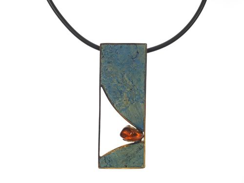 necklace Babette with stone