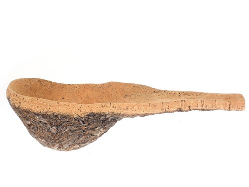 natural cork bowl, trowel