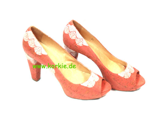 Sandale bestickt, high heels, sale